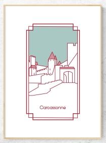 cadre carcassonne