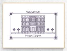 St-Denis: maison Coignet