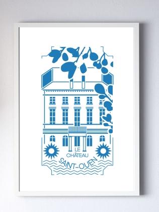 gravure chateau